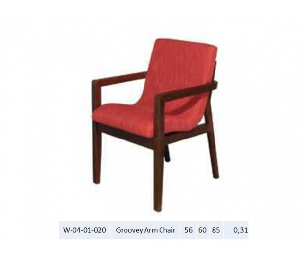 Groovey Arm Chair