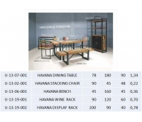 HAVANA DINING TABLE