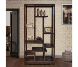BOOK RACK MODEL ORIENTAL MAHOGANY