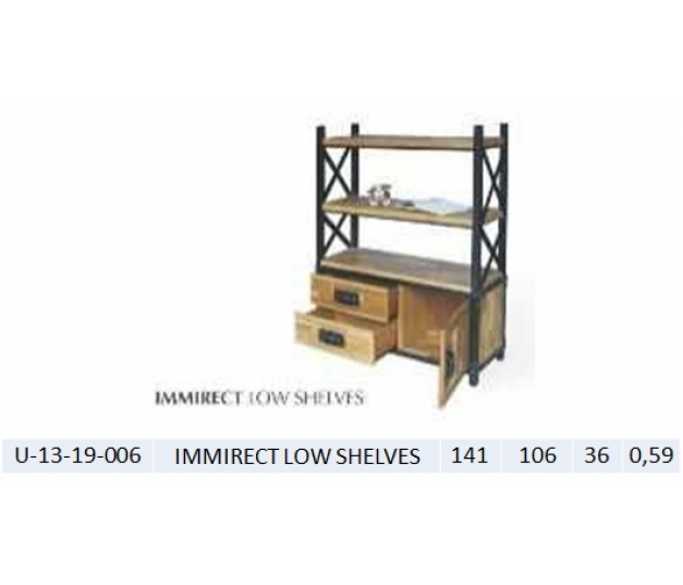 IMMIRECT LOW SHELVES