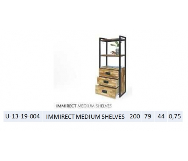 IMMIRECT MEDIUM SHELVES