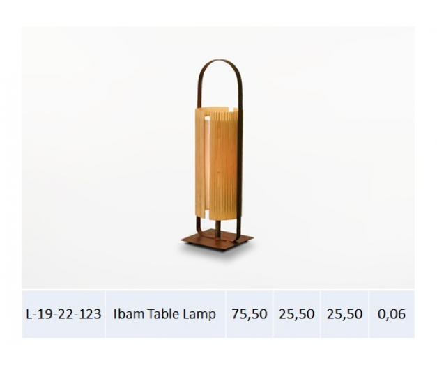 Ibam Table Lamp