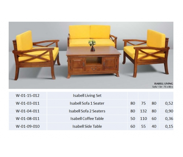 Isabell Living Set