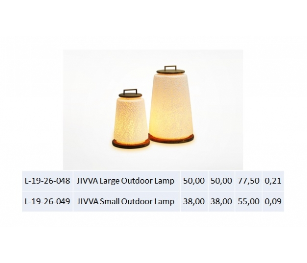 JIVVA Small Outdoor Lamp