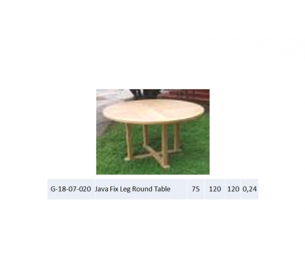 Java Fix Leg Round Table