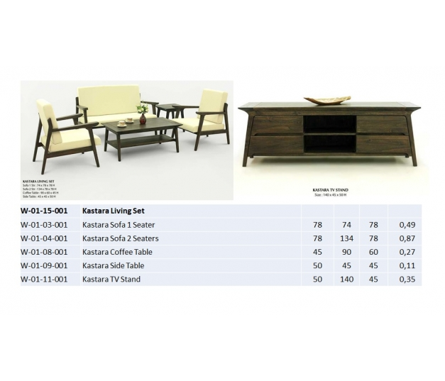 Kastara Coffee Table