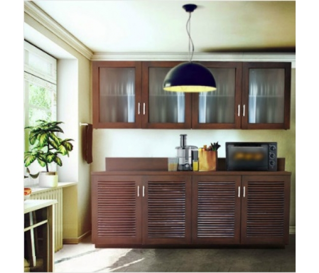 Kitchen Cabinet Louvre Style