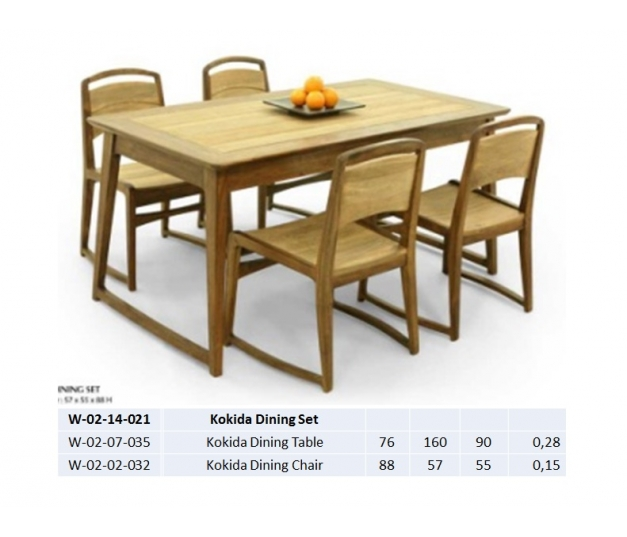 Kokida Dining Table