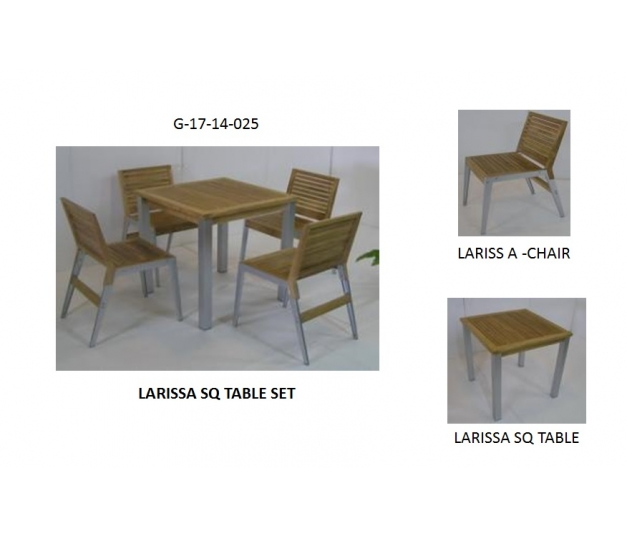 LARISSA SQ TABLE SET