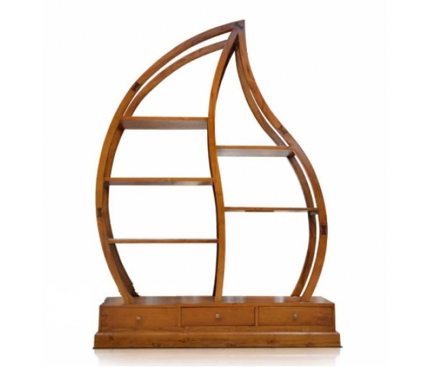 LEAF MOTIF DISPLAY RACK