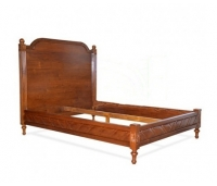 LOUIS BED WITH PANEL HEAD BOARD