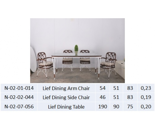Lief Dining Arm Chair