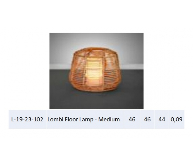 Lombi Floor Lamp - Medium