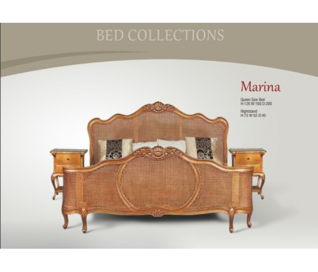 Marina Queen Size Bed