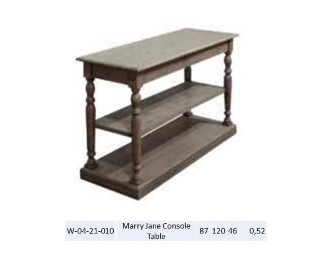 Marry Jane Console Table