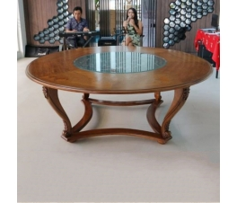 Carving teak Hotel table