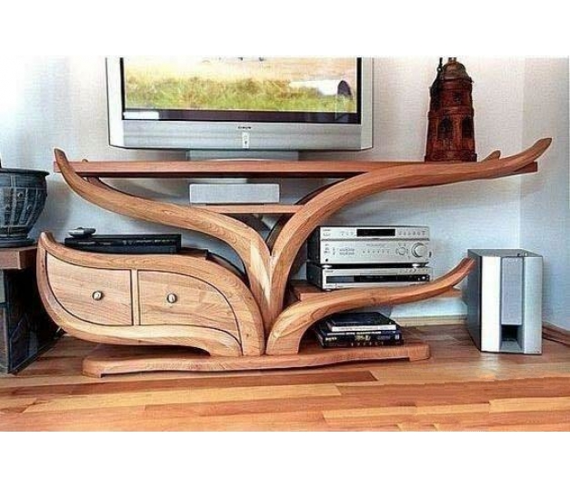 Bandung Unique Teak Wood TV Table