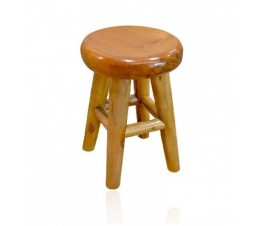 ORGANIC TEAK WOOD ROOT STOOL NATURAL