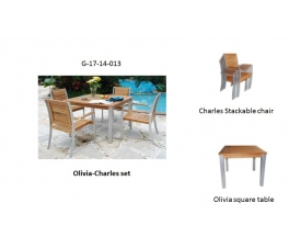 Charles Stackable chair