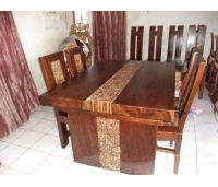 Antique Kitchen and Dining set with teak coins