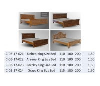 Barclay King Size Bed
