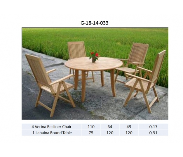 Lahaina Round Table Dining room set