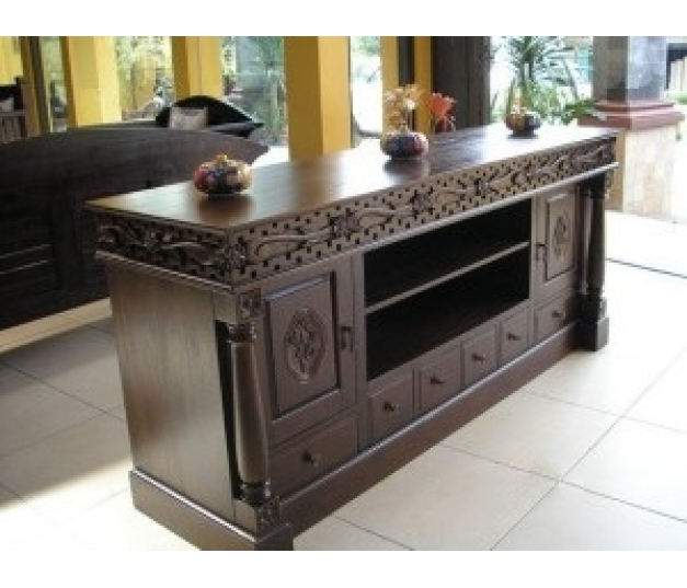 Mawar Short Teak Buffet