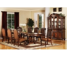 8 Chairs Dining Table Set