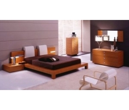 Novelty Minimalist Teak Bedroom Set