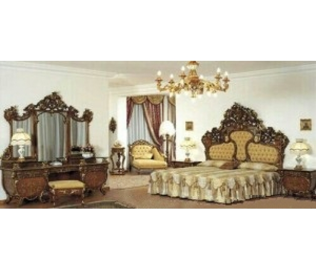 Classic Carved Bedroom Set