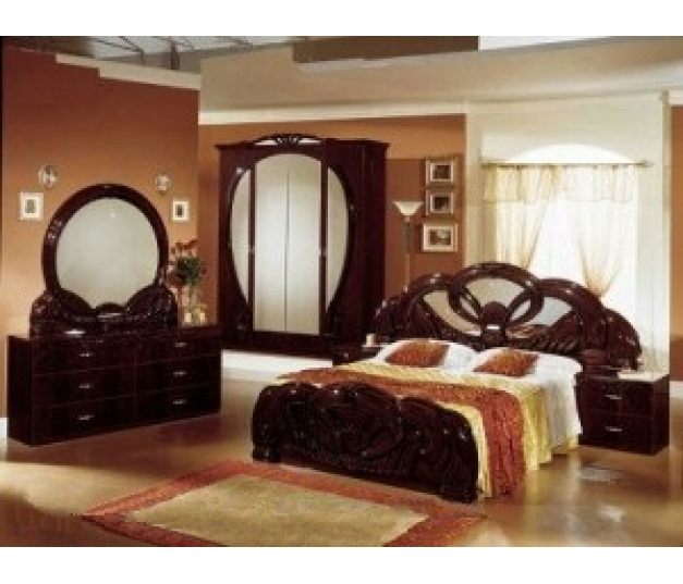 Classic Carvings Bedroom Set