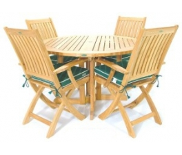 Narrow Dining Table Chair Set