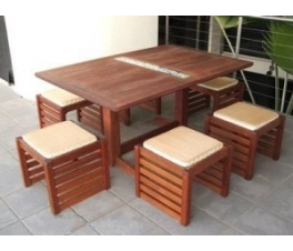 Jari-Jari Garden Dining Table Set