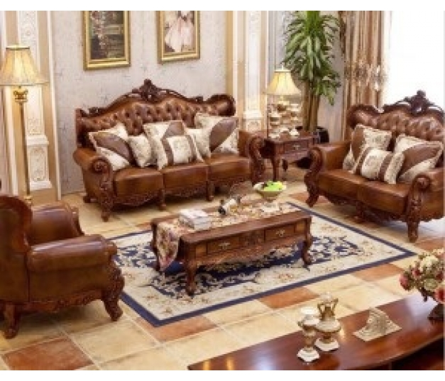 Luxury Living Room Chair Set