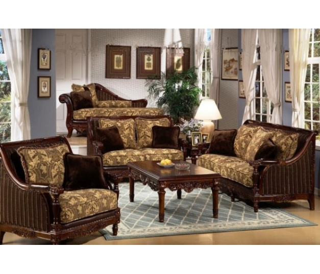 Luxury Brown Living room set