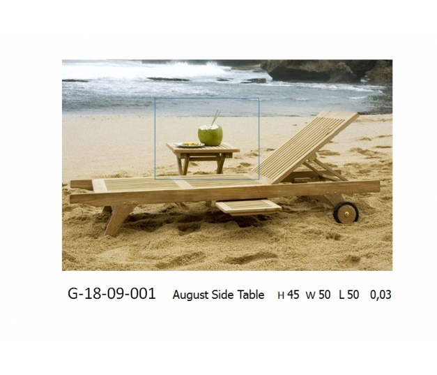 August side table