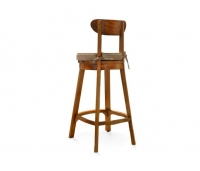 BAR STOOL CLASSIC MAHOGANY WOOD
