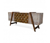 Buffet Dallas with Sloping legs teak