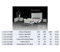 Chaira King Bed
