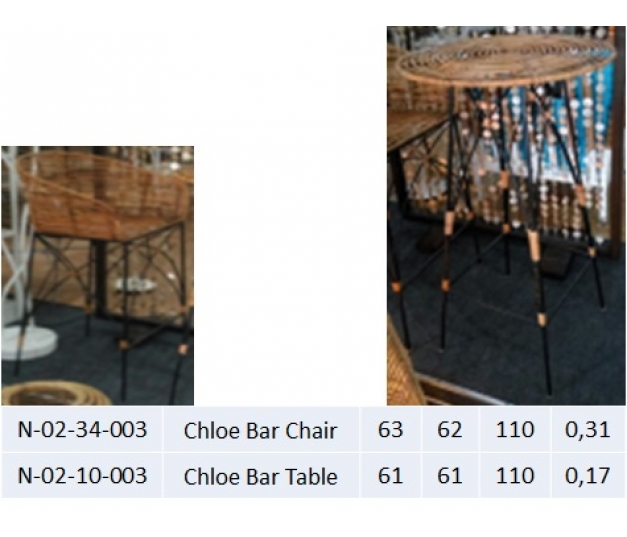 Chloe Bar Table