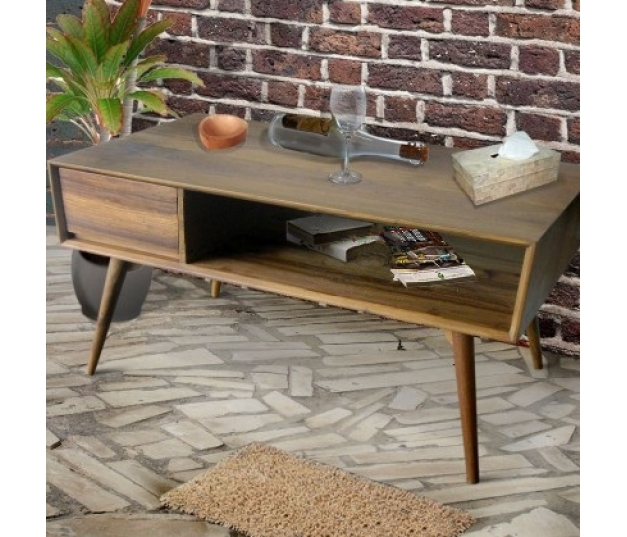 Coffe Table Polos Wood Vintage