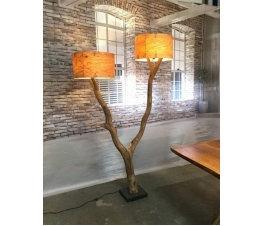 Antique decorative lighting recycled furniture Jepara