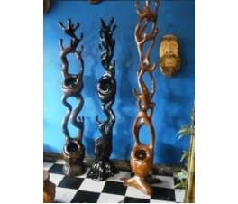 Antique Wooden Hanger Gentong