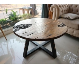 Antique Carved Teakwood Guest Table Kalingga