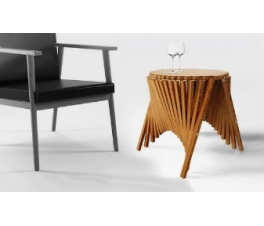 Rising Side Table by Robert van Embricqs Design Milk