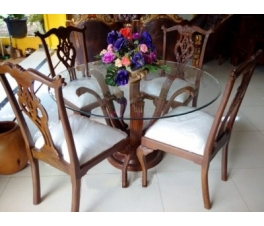 Chippendale Teakwood Dining Set