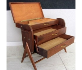 Danish Vintage Design Sewing Box Chest