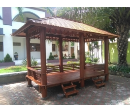 Coconut Gazebo Rectangle