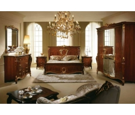 Natural Classic Teak Wood Bedroom Set