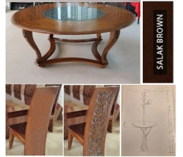 Round Dining Room Set and Coat Hanger Advance 50%